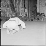 Une soirée de gala de judo au théâtre municipal d'Hanoï.