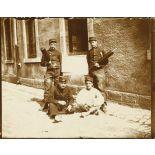 Le 37e régiment d'infanterie (37e RI) à Nancy au début du XXème siècle.