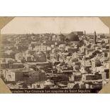 Jerusalem. Vue générale. Les coupoles du Saint Sépulcre. [légende d'origine]