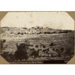 Jerusalem. Le Cenacle au Mont Sion. [légende d'origine]