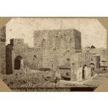 Jerusalem. La Tour de David avec la Citadelle. [légende d'origine]