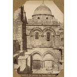 Jerusalem. Le parvis du Saint Sépulcre. [légende d'origine]