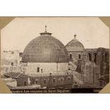 Jerusalem. Les coupoles du Saint Sépulcre. [légende d'origine]