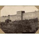 Jerusalem. La Porte Dorée. Extérieur. [légende d'origine]