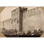 Jerusalem. La Porte Dorée. [légende d'origine]