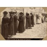 Jerusalem. Le lieu où les Juifs vont pleurer. [légende d'origine]
