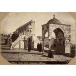 Jerusalem. Cour de la mosquée d'Omar. [légende d'origine]