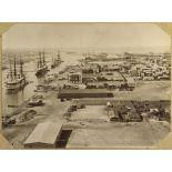 Débarquement des troupes anglaises à Port-Saïd. [légende d'origine]