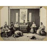 Tribunal d'un mandarin. [légende d'origine]