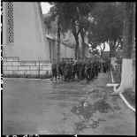 Le convoi funéraire des obsèques du colonel Guth.
