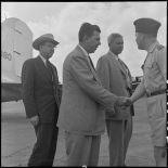 Arrivée de la mision parlementaire américaine à Hanoï.