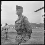 Portrait du médecin-commandant Grauwin, chirurgien en chef de l'antenne de Diên Biên Phu.