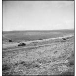 Vue d'ensemble du champ de bataille de Kasserine.