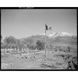 Cimetière de la 2e division d'infanterie marocaine (DIM) à Roccaravindola, dans le secteur de Venafro.