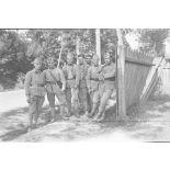[France, années 1930. Photographie de groupe de sapeurs du 18e régiment du génie].