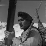 Portrait d'un éclaireur-skieur du 199e BCHM.