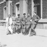[Mobilisation : photographie de groupe d'artilleurs (?). 5 septembre 1939.]