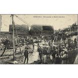 Casablanca. - Débarquement du Matériel d'Artillerie. [légende d'origine]