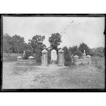Lagny (Oise), le cimetière allemand. [légende d'origine]