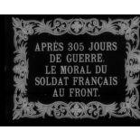 Après 305 jours de guerre, le moral du soldat français au front.