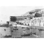 Ile de Malte. La Valette. Le château et le port. [légende d'origine]
