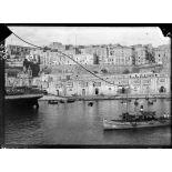 Ile de Malte. La Valette. Le port. [légende d'origine]
