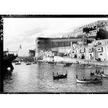 Ile de Malte. La Valette. Le château. [légende d'origine]