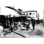 Port Saïd. Un coin du marché. [légende d'origine]