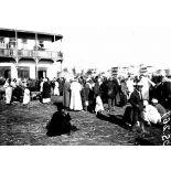Port-Saïd. Le marché arabe. [légende d'origine]